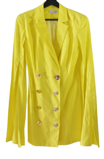 Buy: Yellow oversized blazer Size 8