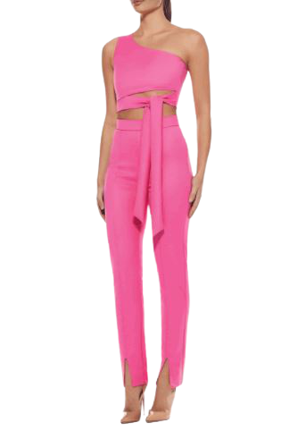 Buy: Pink high waisted Milan pant BNWT Size 10