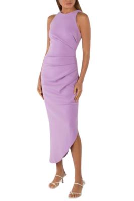 Buy: Purple long dress-sleeveless BNWT Size 8
