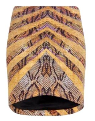 Buy: Snake skin high waist mini skirt BNWT Size 8