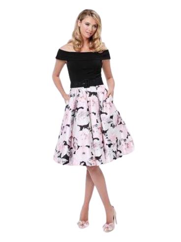 Rent: Off Shoulder Dress Size 16