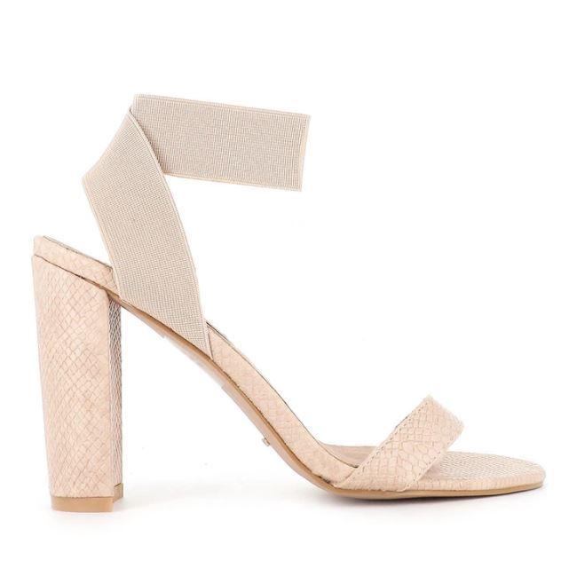 Buy: Nude snake heels Size 10 BNWT