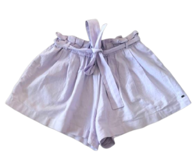 Buy: Lilac linen shorts Size 8