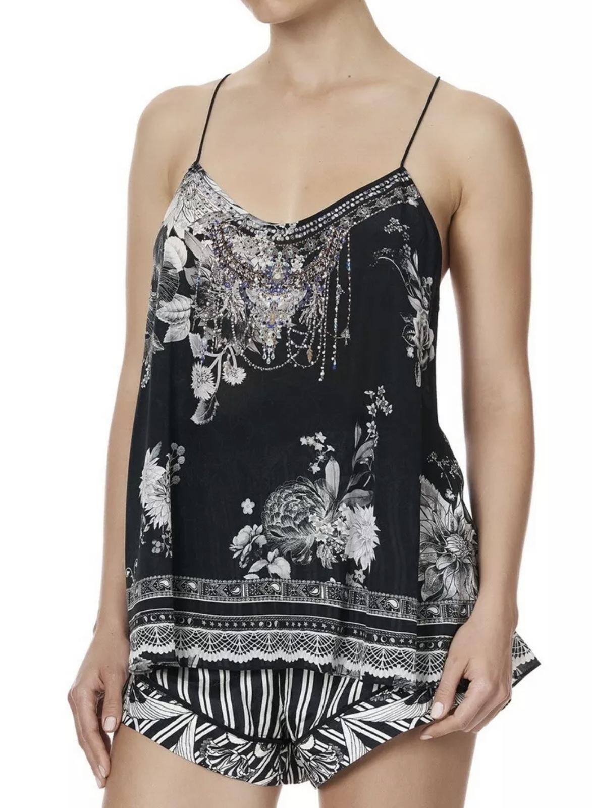 Buy:  'Moonshine bloom' T back Top BNWT Size 14
