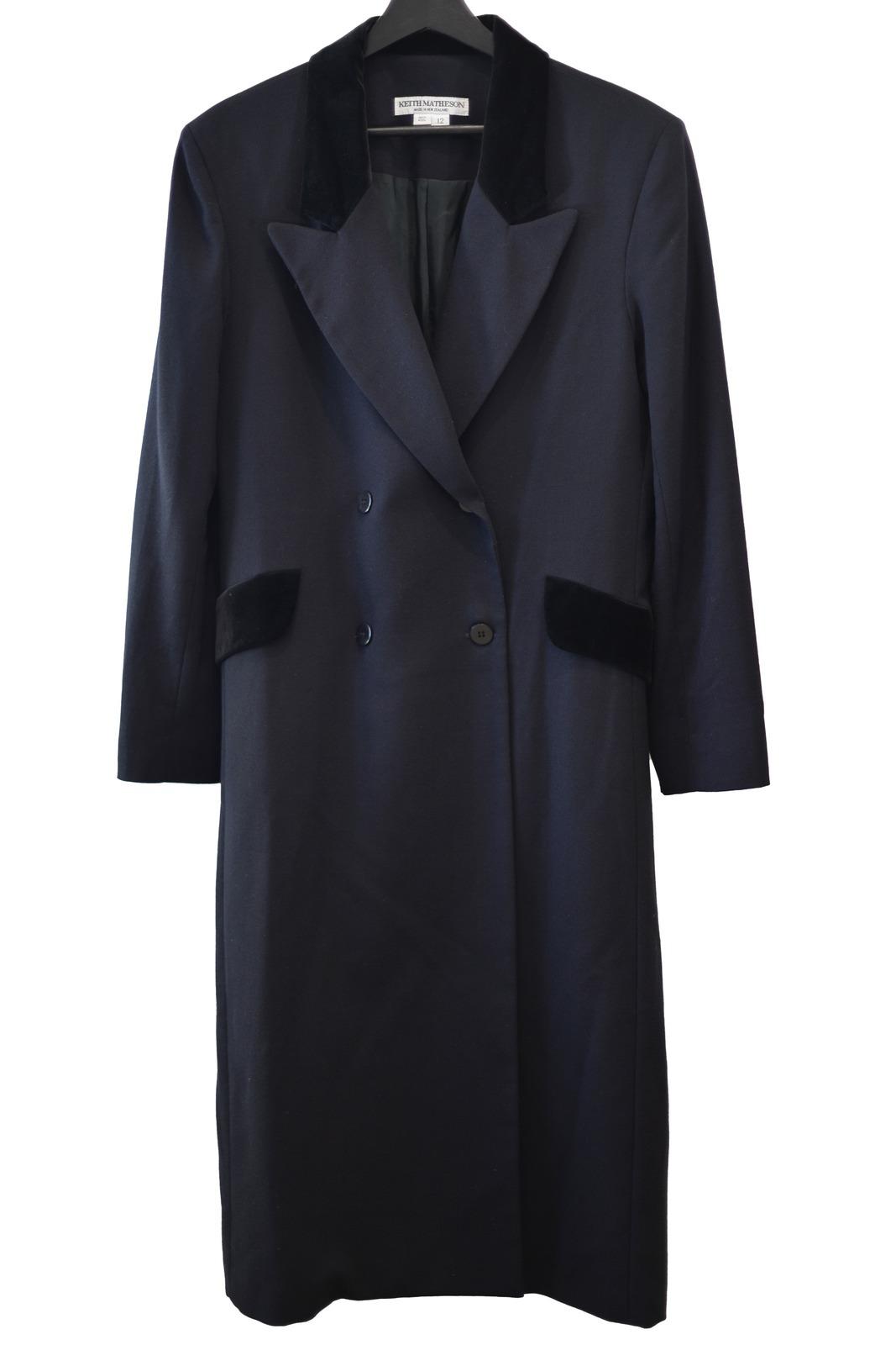Rent: Wool crepe coat Size 12