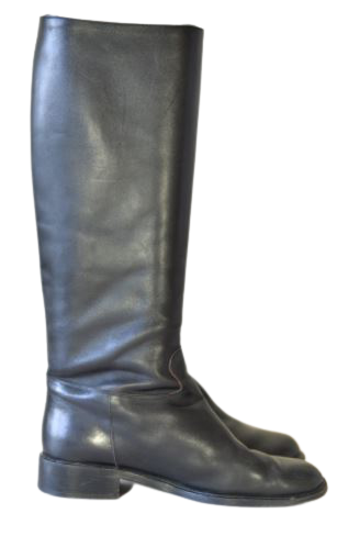Buy: Leather riding boots Size 8