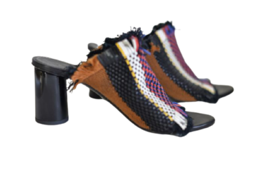 Buy: Woven Leather mules Size 6