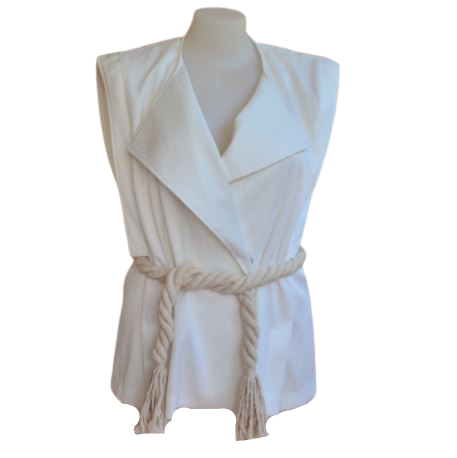 Buy: Collared top with belt Size 6
