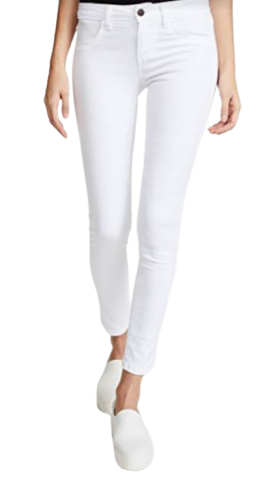 Buy: Hannah cropped slim jeans in white Size 27