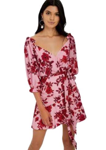 Rent: Floral dress Size 12