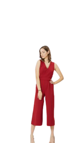 Buy: Deep red jumpsuit BNWT size 8