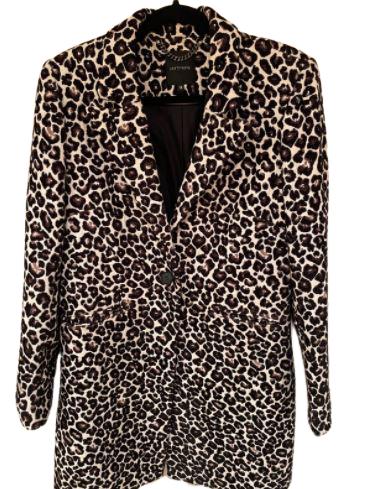 Buy: Leopard Print Coat Size 14