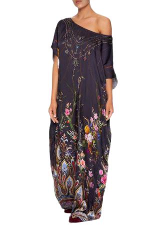 Buy: Slim Line Round Neck Kaftan Wild Flower BNWT Size 10