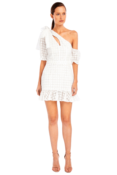 Buy: Sookie Asymmetric Dress in White BNWT Size 10