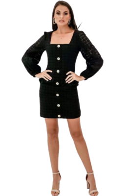 Buy: Sookie Shift Midi Dress in Black BNWT Size 10