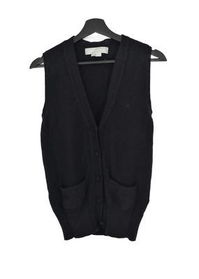 Buy: Black Cashmere Vest