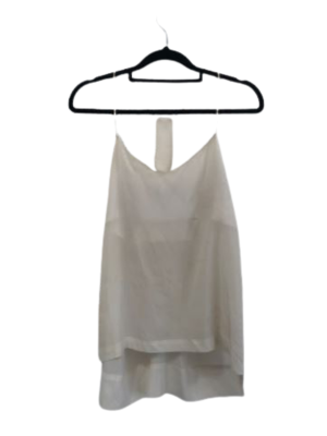 Buy: White spaghetti strap cami Size 6-8