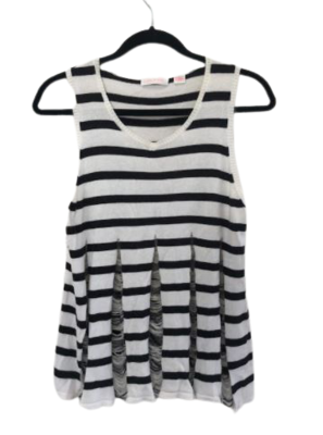 "Buy: ""Moon shadow"" striped singlet top Size 8"