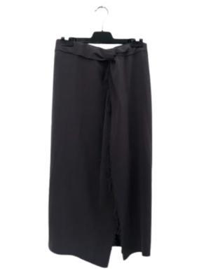 Buy: Grey split skirt with a raw edge Size 6