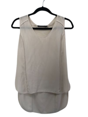 Buy: Cream singlet top Size 10
