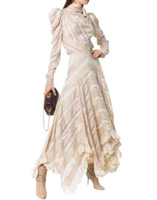 Buy: Unbridled Chevron panel Maxi skirt BNWT Size 10