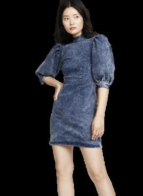 Buy: Denim Minidress BNWT Size 8
