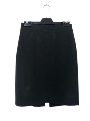 Buy: Black skirt with back slit Size 8