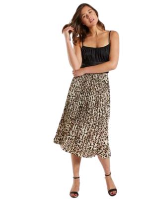 Buy: Leopard print skirt Size 10