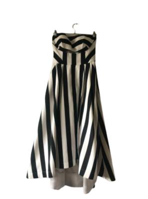 Buy: Formal black & white Dress Size 8