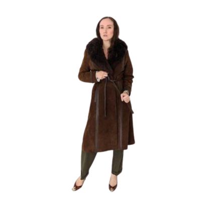Buy: 1970s Suede Sheep Skin Coat Size 8-10