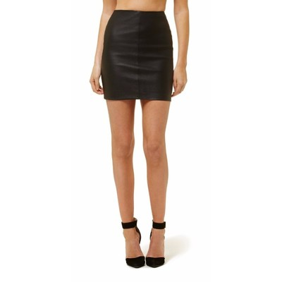 Buy: Black Leather skirt BNWT Size 6