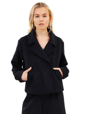 Buy: Milano Cropped Wool Coat BNWT Size 12