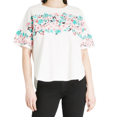 Buy: Embroidered floral top Size 2