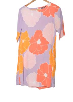 Buy: Floral patterned short dress Size 8