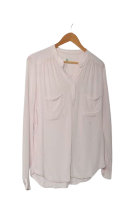 Buy: Lilac sheer top Size 8