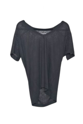 Buy: Black V-neck t-shirt Size 10