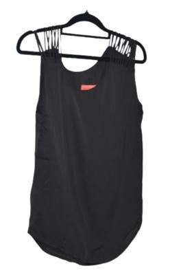 Buy: Black asymmetrical spaghetti straps Size 6